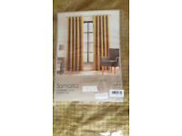 dunelm samaitra chartreuse curtains228 x 182 cm brand new in packaging