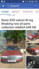 Rover 820i saloon m reg breaking now
