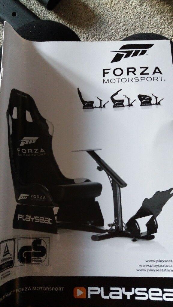 Super Forza Motorsport Gaming Chair And Steering Wheel Bundle In Lowestoft Suffolk Gumtree Short Links Chair Design For Home Short Linksinfo