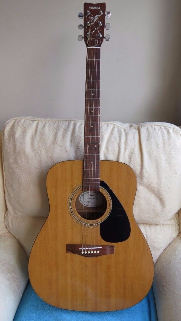 Yamaha F310 Acoustic Guitar (Natural) with New Strings