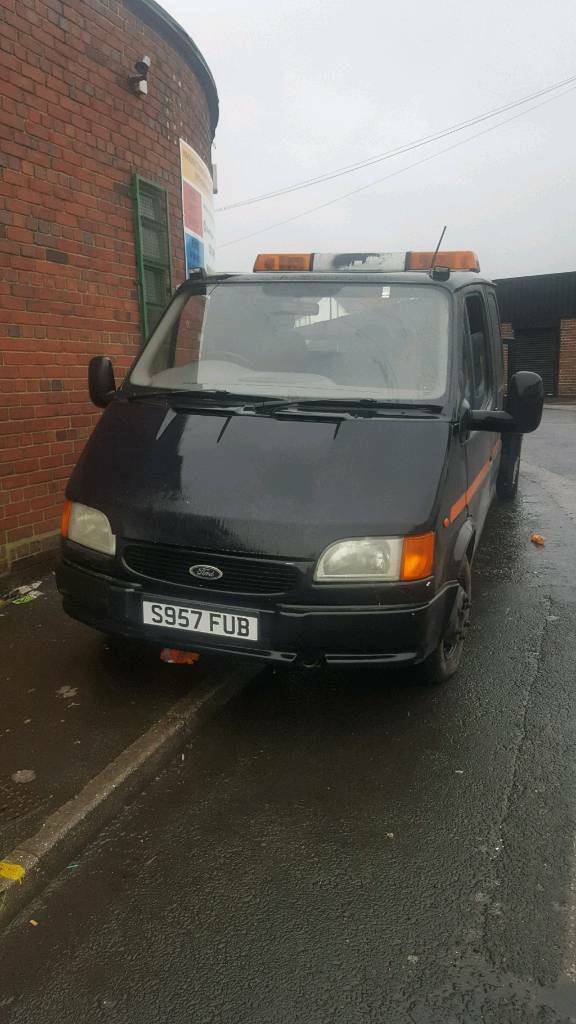 eade766f24 Ford Transit Recovery Truck 3.5T banana engine low miles