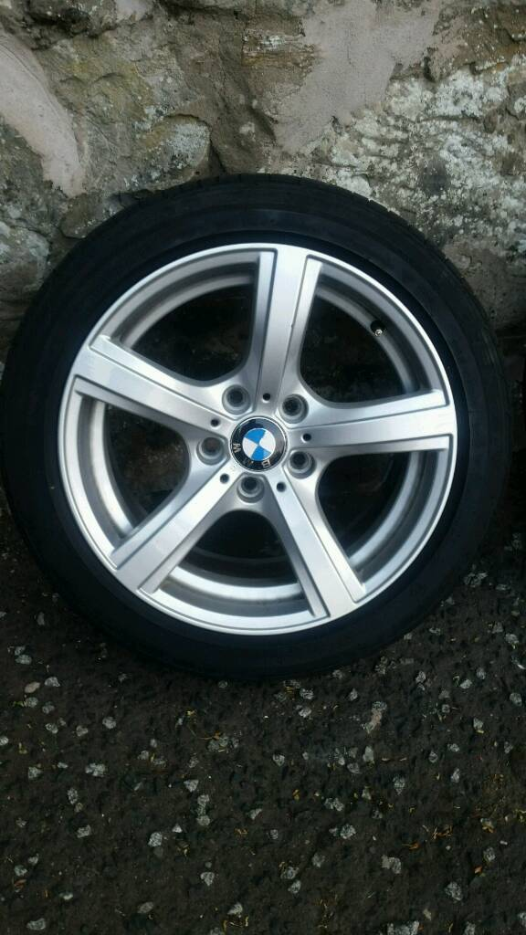 17' excellent condition BMW alloys