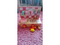 Wooden toy kitchen perfect condition