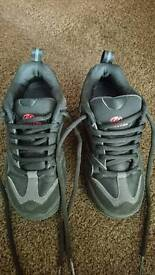 Heelys, size 2, black with red detail, very good condition