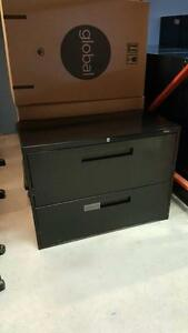 Global 9300 Series - 2 Drawer Lateral Filing Cabinets - $150
