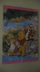 Variety of Winni the Pooh and Friends Photomosaic Framed Puzzles Strathcona County Edmonton Area image 3
