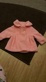 Girls coat up to 3 months
