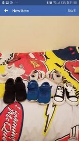 bundle of boys size 6 shoes. 11 pairs
