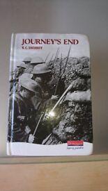 journey's end hard back book