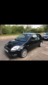 2005 - Black Ford Fiesta - 1.6 Zetec S
