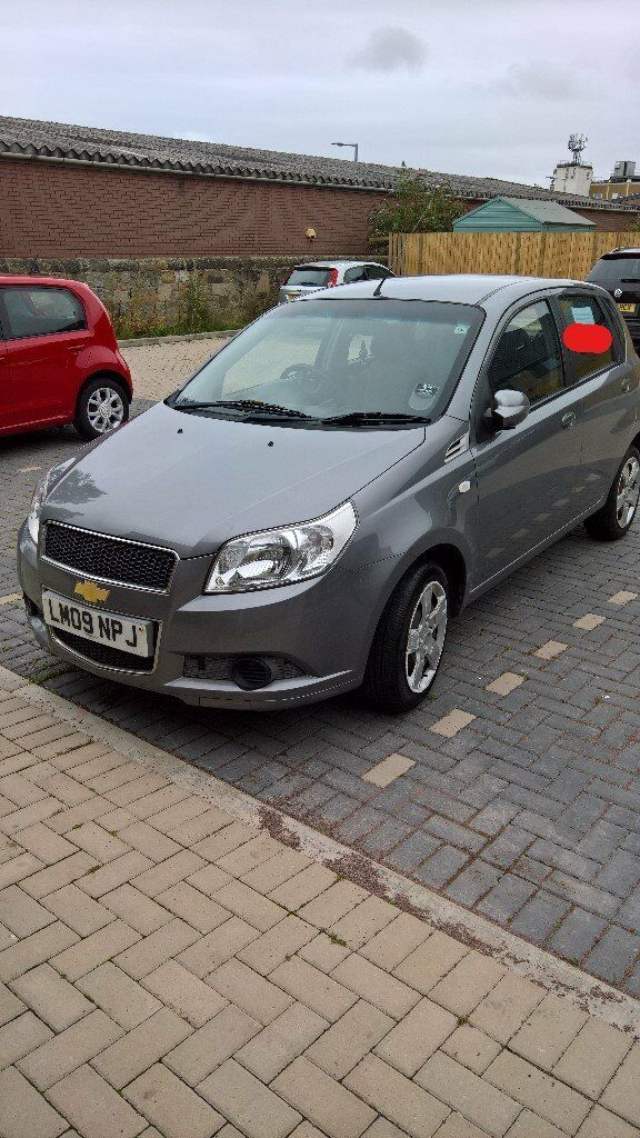 chevrolet aveo 2009 1.2 5dr manual