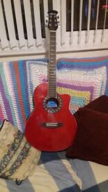 crossfire electric acoustric guitar