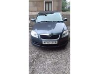 SKODA FABIA 2007 1.4 16v Petrol 108K REAL! Service History! 3 Owners From New Exelent Runer £2,260