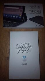 Brand new Alcatel one touch pixi 3 10inch with brand new unopened bluetooth keyboard!