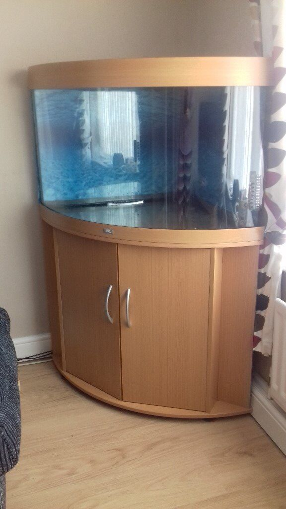 Juwel 190 trigon corner aquarium fish tank in newcastle for Corner fish tank for sale