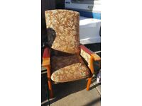Parker knoll high back chair