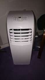 9000 BTU Portable Air Con Conditioner Cooling Fan Rhino H03607 Conditioning NEW
