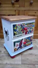 *REDUCED* Spiderman Bedside Cabinet