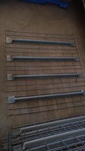 "40"" Deep x 42"" Wide Wire Mesh Decking for Pallet Rack, Grid Decks, Industrial Racking"