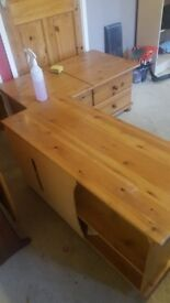 Tv cabinet / draws/chest. Table