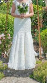 Designed wedding dress size 12