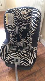 Zebra car seat