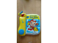 Vtech splash & sing bath book