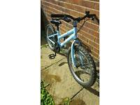 "Girls 20"" wheel Trax bike"