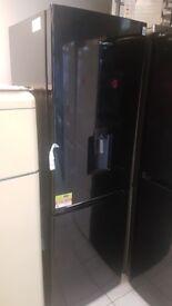 BRAND NEW Black DAEWOO RN37DB 60/40 Fridge Freezer with WARRANTY
