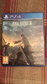 Final Fantasy XV on PS4