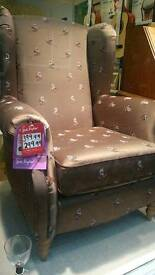 New goods wingback chair DFS stock