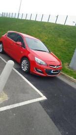 Vauxhall Astra 1.6 petrol. Half leather low mileage