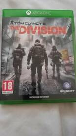 Xbox one . Tom clancy's the division