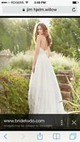 Jim Hjelm with Hayley Paige Wedding Dress