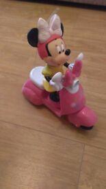 Minnie mouse remote control bike