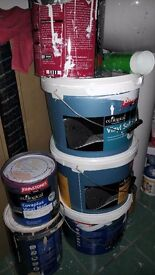 PAINT TUBS FOR SALE from JOHNESTONE PAINTS !! GREAT BARGAIN !!