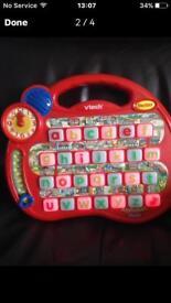 V-Tech Alphabet Desk (REDUCED)