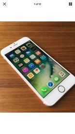 Apple iPhone 6s rose gold UNLOCKED 4 months old