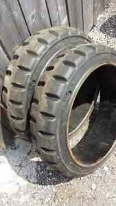 Lift Truck Industrial tires & rims, size 22 x 16 brand new.$50..