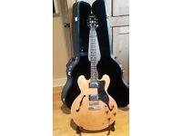 Epiphone Gibson ES 335 DOT natural electric guitar