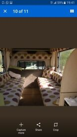 Camper van Vauxhall rascal