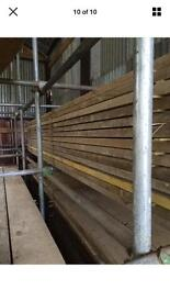 Scaffold boards reclaimed timber wood planks flooring