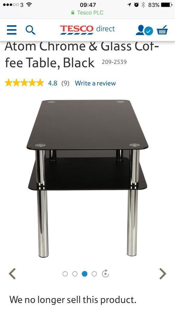 Tesco Direct Atom Coffee Table