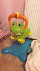 V tech bouncing frog