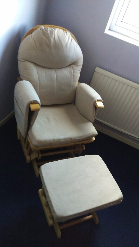 Nursing glider maternity chair