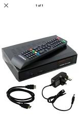 Zgemma 2s twin tuner say box with sky TVs guide, skins plus all FTA channels