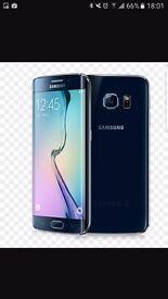 Samsung Galaxy 6 edge black 64gb new unused
