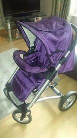 Mutsy Pushchair & Carrycot