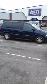 Chrysler grand voyager 3.3 auto spares or repairs
