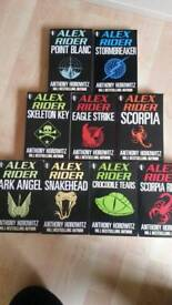 Anthony Horowitz Alex Rider Books